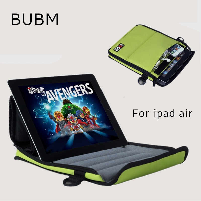 2017 Newest Brand BUBM Case For ipad Air 9.7, Stand Bag for ipad 2/3/4/5, Messenger Bag For Tbalet 8,9, Free Drop Shipping bubm professional dj bag for pioneer