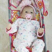 Otarddolls Bebe Reborn Dolls 22″ 55cm Soft Vinyl Silicone Reborn Baby Doll Cute Girl Toys boneca For Children Birthday Gift