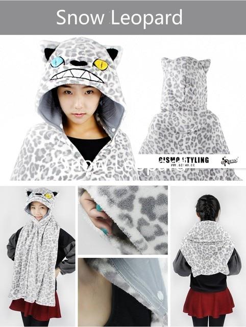 Fleece Plush Adult Kids Children Unisex Hooded Cloak Wrap Tippet Blanket  with Hood Bath Towel Shawl Totoro Pokemon Pikachu Panda c34aec576