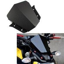 CNC motorcycle accessories Windshield Windscreens Wind Deflectors for 2014 2015 2016 Yamaha MT FZ 09 MT09 FZ09  MT-09 FZ-09 2018 windshield pare brise for yamaha mt 09 mt09 mt 09 fz09 fz 09 2017 2019 motorcycle accessories windscreens wind deflectors