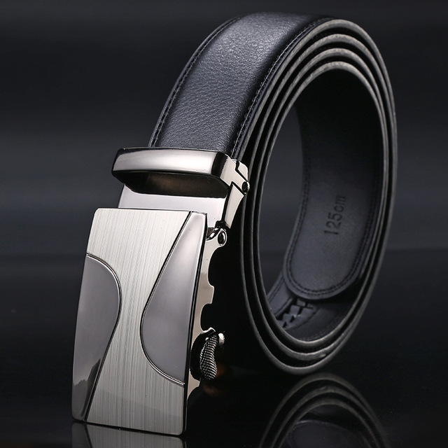 Newest Designer Belt Men Luxury Famous Brand Designer High Male Genuine Leather Strap Automatic Buckle Belt Ceinture Homme