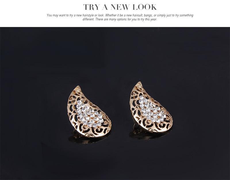 News Saudi Gold Nigerian Wedding Jewelry Set Bridal Dubai Dress Jewelry Sets African Beads Jewelry Set Free Gift Box
