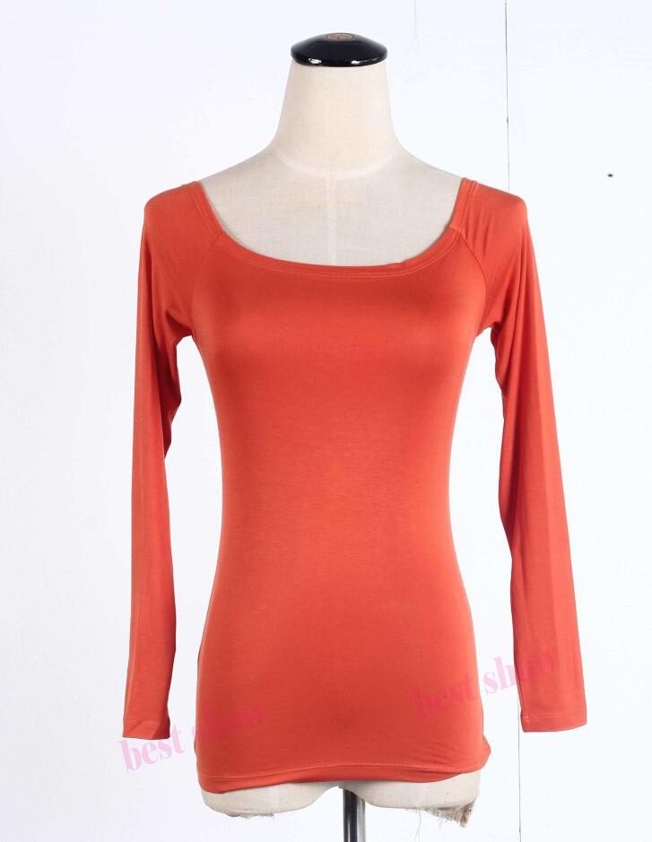 orange long sleeve