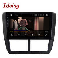 """Idoing 1Din 9 """"Auto Radio GPS Multimedia Player Android8.0 Für Subaru Forester 2008-2012 4G + 64G Octa Core Navigation Schnelle Boot"""