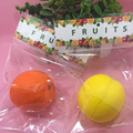 NEW package 8 cm Cute cartoon fruit orange slow rising squishy toys cell phone charm accessories squishies charm