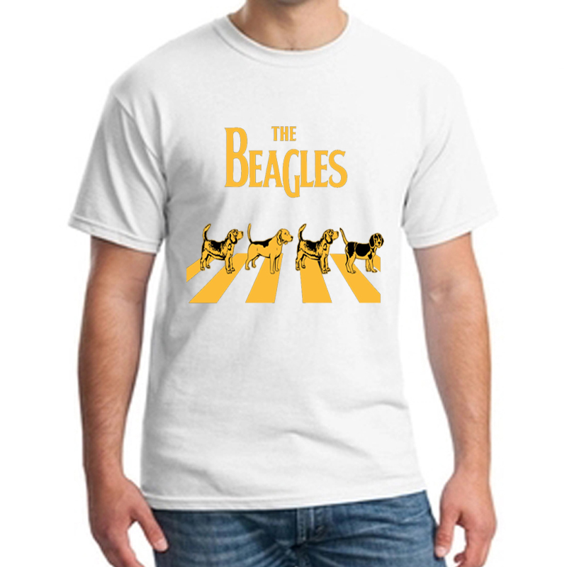 The Beagles Funny Beagle print T shirt Lovers T-Shirt men/women summer Short Sleeve O-Neck tops tee plus size S-XXXL  NN