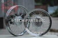 Original Design Brand New GN250 Spokes Wheels FRONT & Rear COMPLETE Rims sizes 2.50*16 & 2.15*18