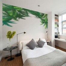 Grnen Baum Wandaufkleber Wohnzimmer Schlafzimmer TV Hintergrund Wohnkultur Wandtattoo Kunst 3d Poster