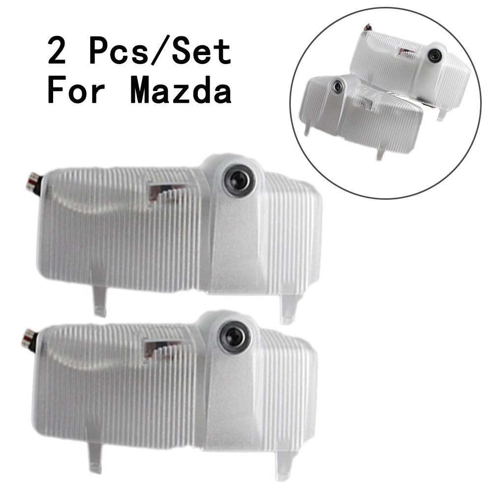 12V 7W Lens Include With Logo Ghost Shadow Projetor 2Pcs/Set Step Door Courtesy Laser LED Courtesy Only For Mazda 6