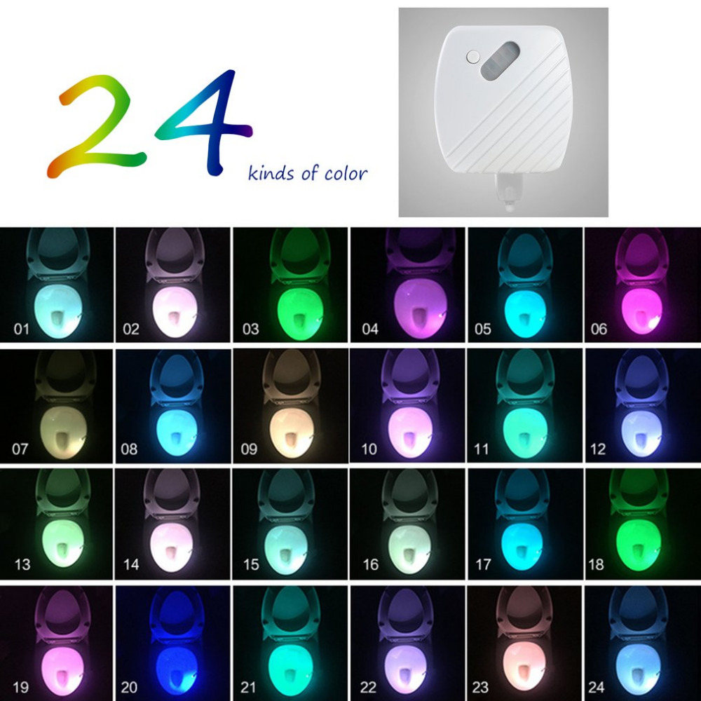 Luzes da Noite noite luz Function 2 : Led Toilet Nightlight