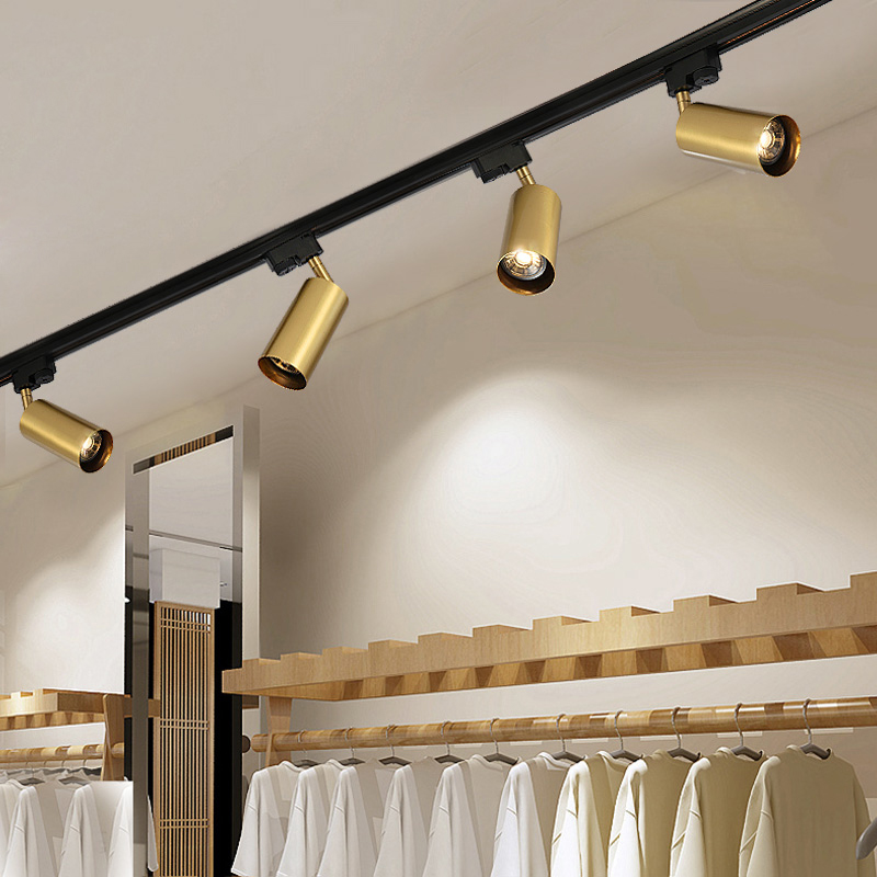 New led track light for shop modern spotlight for living - Track lighting ideas for bedroom ...