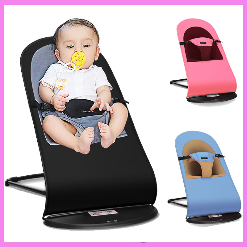 New Arrival Newborn Baby Swing Rocking Chair Adjustable Baby Cradle Lounge Multifunctional Baby Bouncer Recliner 0-22 Months newborn baby rocking chair comfort toddler cradle deck chair sleeping swing lounge chair bouncers with music pillow summer mat