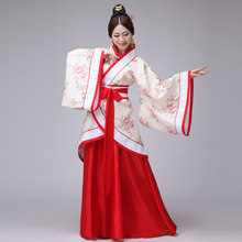 b1a8ed2faf Hanfu Women Traditional Chinese Clothing Classic Costume Ancient Chinese  Women Dance Hafu Clothes Lady National stage