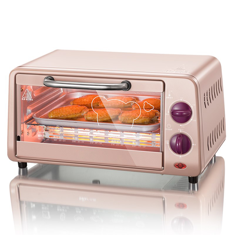 DMWD Multifunctional 9L Mini Electric Oven Automatic Bake Machine Home Cake Pizza Egg Tart Cookies Maker 220V 800W 220v aux 9l multifunctional electric oven household bread cake pizza baker machine automatic barbecue electric oven