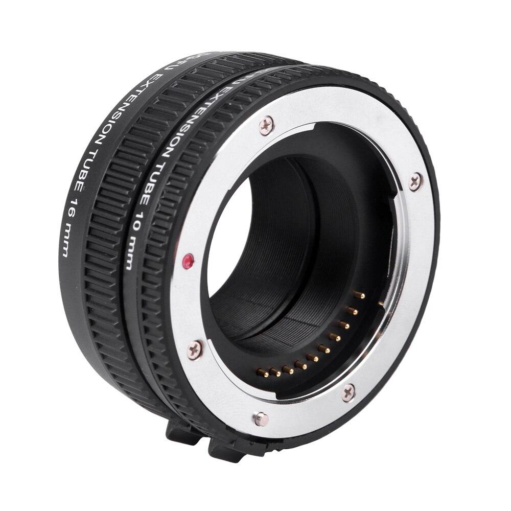 Viltrox DG-FU Auto Focus AF Macro Extension Tube anneau adaptateur d'objectif pour Fujifilm X monture Macro objectif caméra - 3