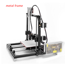 2016 Nueva Estructura De Aluminio Prusa i3 Impresora 3D, Impresión de Gran Tamaño Filamento Impresora 3d DIY Kit Con 2 Rollos 2G SD tarjeta