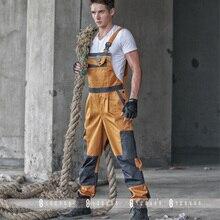 Купить с кэшбэком 2016 Male coveralls overalls Wear-resisting tooling moving car mechanics performance   Men work clothes S-XXL