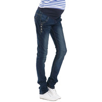 Jeans Maternity Pants For Pregnant Women Pregnancy Denim Trousers Lactation Clothes Maternidade Autumn Winter Clothing 2019 New