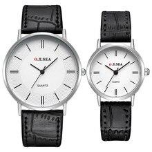 Модные Часы Для мужчин Для женщин 2 шт. смотреть люкс любовника Леди ремень пара кварцевые наручные Часы Relogio feminino #0222