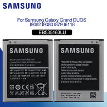 Original Battery For SAMSUNG i9082 EB535163LU 2100mAh Samsung Galaxy S3 Mini i9080 SM-i9168 i9060 Replacement Phone