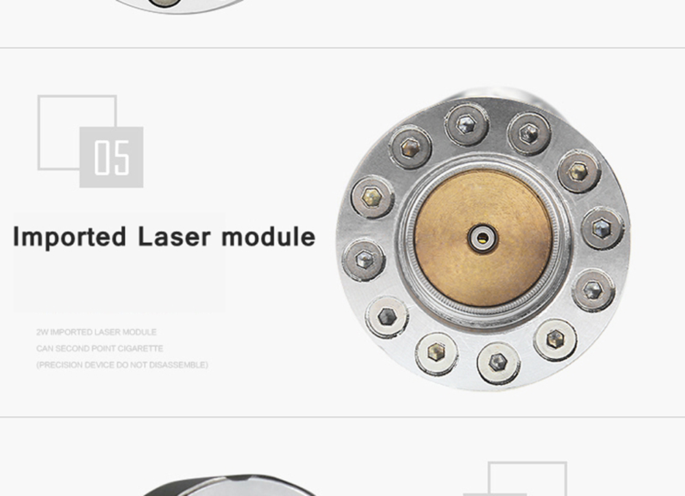 Alta qualidade alongar poderoso azul laser ponteiros