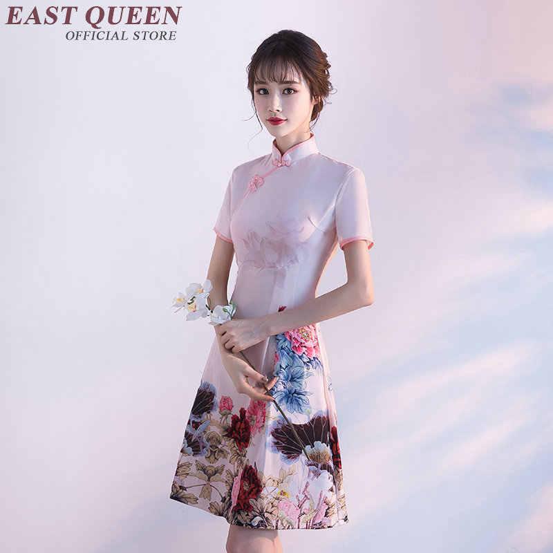 中国のドレスチャイナ袍 orienal ドレス中国繁体字中国語服女性のための現代中国のドレスチーパオ NN0925