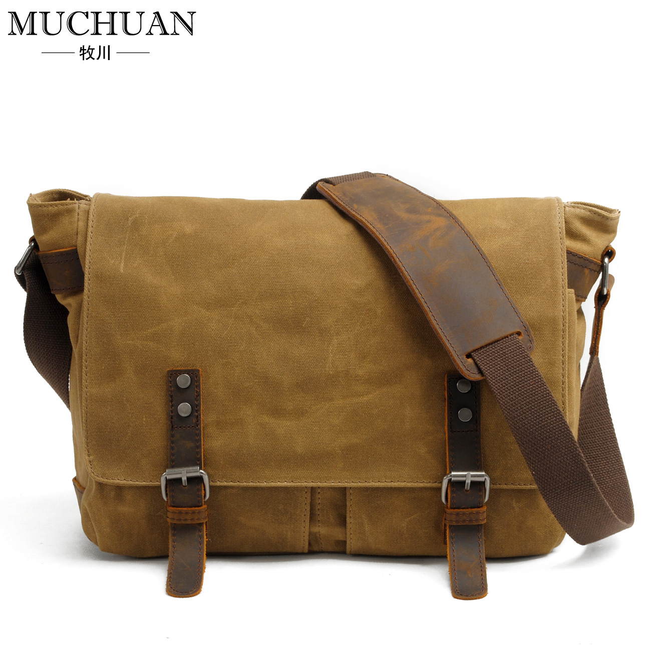 Online Get Cheap Waxed Canvas Messenger Bag -Aliexpress.com ...