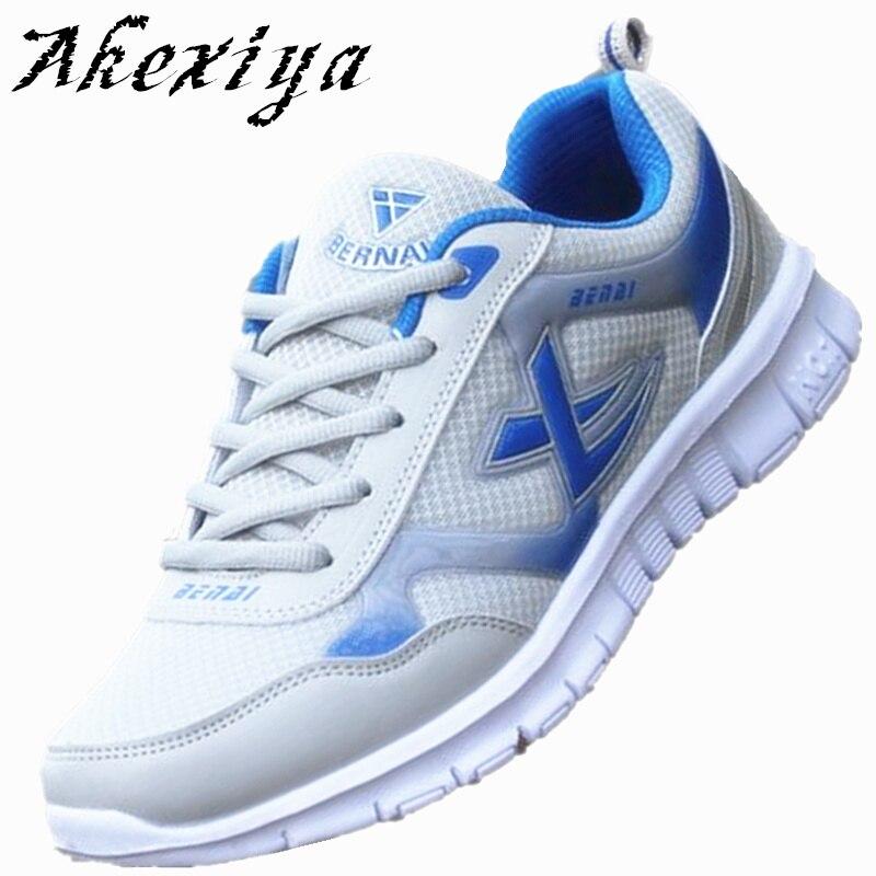 Venta caliente Nueva Ligero Transpirable Hombres Zapatos Zapatos de malla de Air