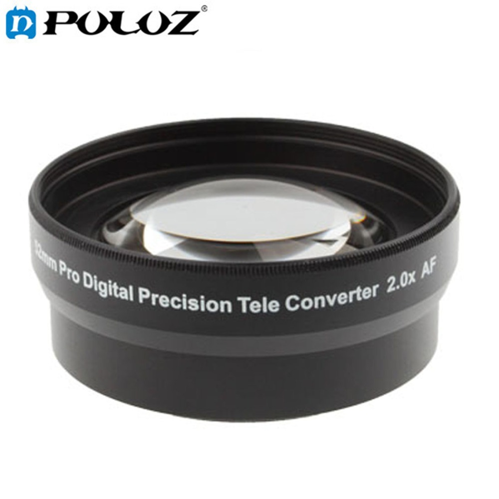 2.0X52mm Pro Precisione Digitale Teleobiettivo Teleconverter Lens Tele Tele Converter per Nikon D7100 D5000 D3200 D3100 D3000