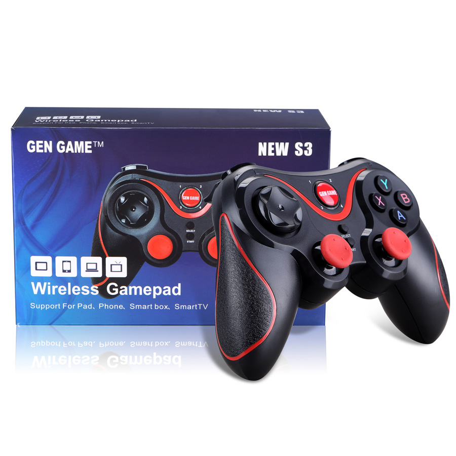 S3 Wireless Bluetooth Gamepad Game Joystick Gaming mini Controller for xiaomi Huawei Android Smartphone Tablet PC Gear VR
