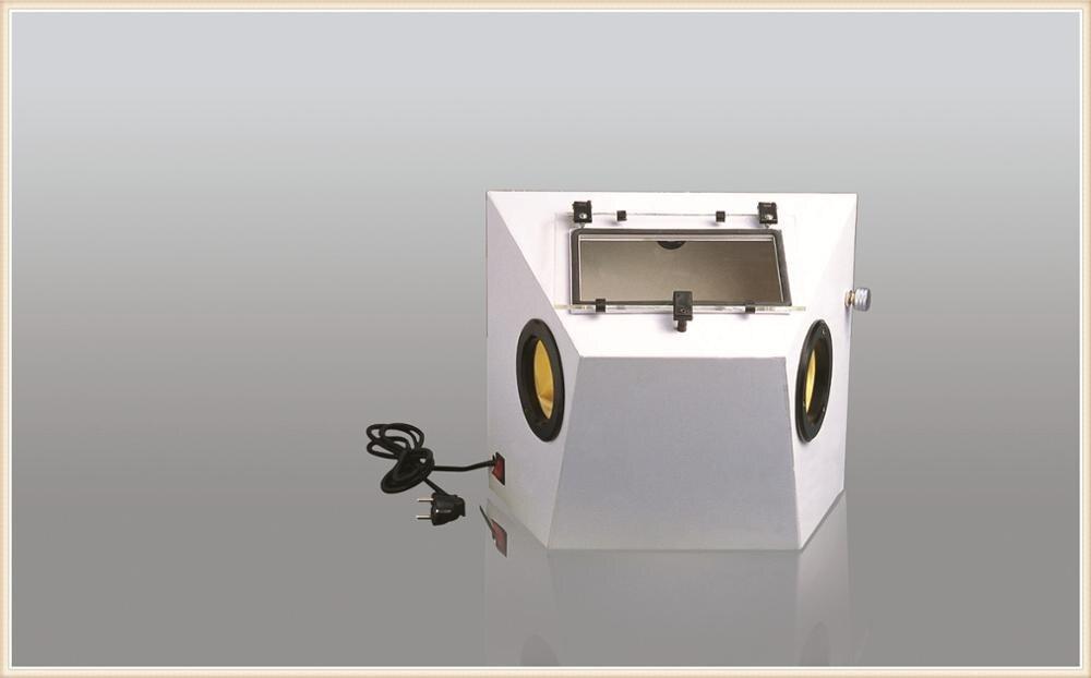Mini White diamonds PS-B Sandblasting Machine For Dental Supply Jewelry Sandblaster Jewelry Making Tools and Equipment