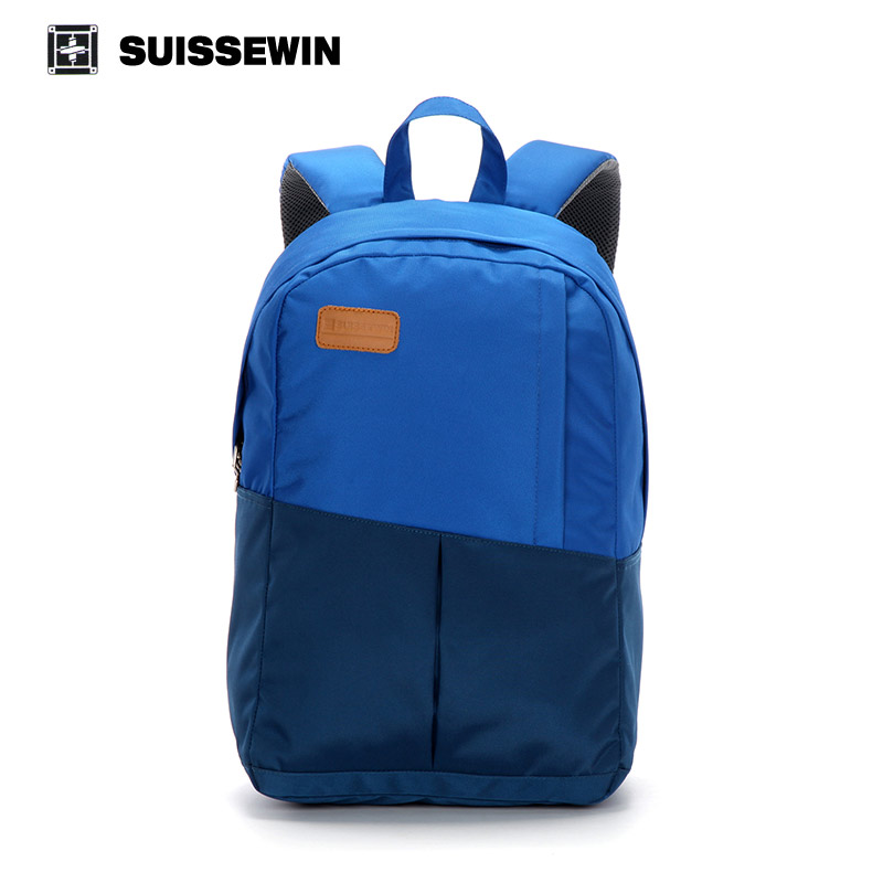 ФОТО Suissewin Cool Backpack For Boys Girls Light Weight Youth Backpack Blue School Backpack For Teenage Boys Back To School Bag