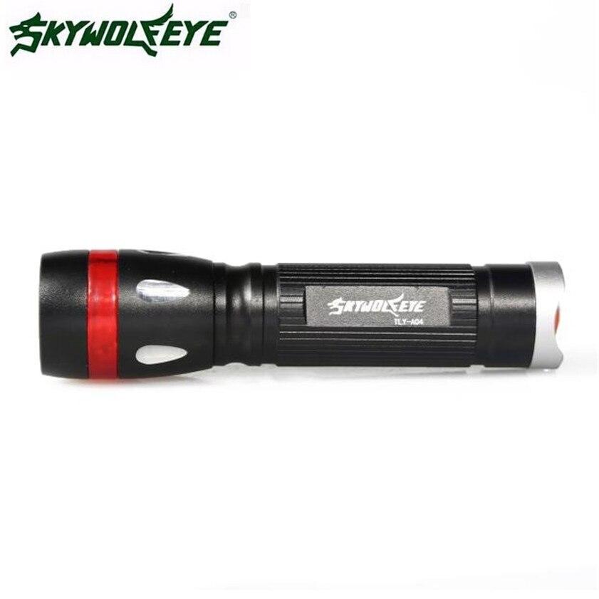 Высокое качество 3000 люмен 3 режима CREE XML T6 светодиодный фонарик факел 18650 лампы свет открытый