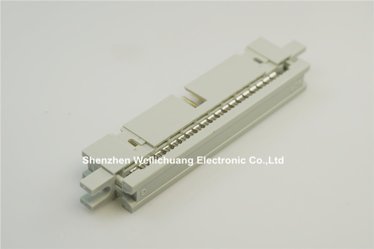 """Image 3 - 50 pcs 0.100"""" 2.54 mm IDC Box header PCB Male Headers 10 14 16 20 26 30 34 40 50 60 64 Pin Mounting Ears For 1.27mm Flat cableConnectors   -"""