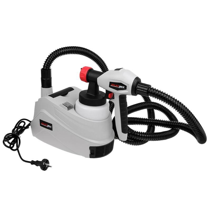 1280W 800ml EU Plug Electric Spray Gun Paint Sprayer Hand Held Sprayer Gun For Painting Cars Wood Furniture Wall Woodworking