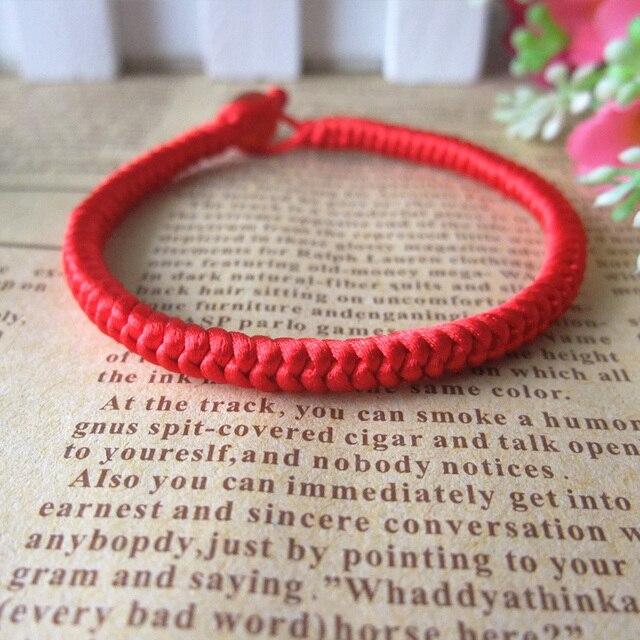 Thick String Bracelets Alert Bracelet