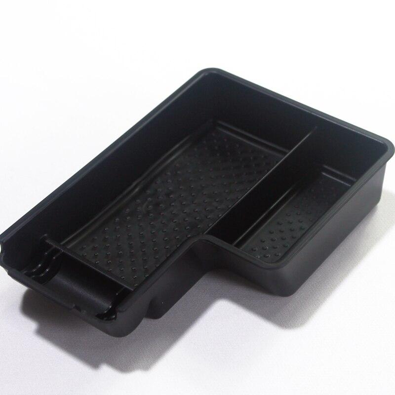 1PCS Plastic Interior Center Armrest Organizer Box For VW Golf 6 Mk6 2009-2012 Left Hand Drive