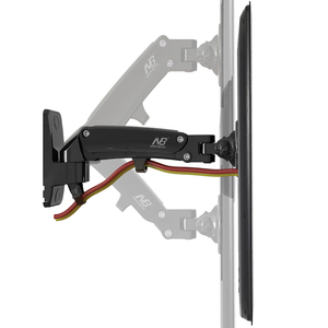 """Image 2 - 30 """" 40"""" NB F200 ressort à gaz plein mouvement LED LCD TV montage mural support de moniteur de Rotation rétractable capacité de charge 11 ~ 22lbs(5 ~ 10kgs)"""