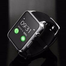 Baratos nuevos relojes inteligentes bluetooth Smartwatch GT88 Impermeable Monitor de Ritmo Cardíaco para IOS Android Smartphone Apoyo TF/Tarjeta SIM