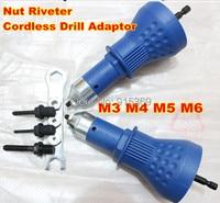 Rivet Nut Adaptor Cordless Drill Adaptor Riveting Tools