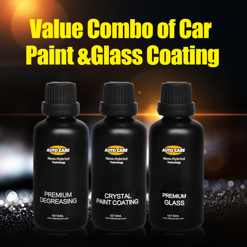 Coating Pro Paint 9H Coat Liquid Glass Ceramic Crystal Car Paint Scratch Repair Hydrophobic Glass Coating With Degreasing Agent factors affecting the glass ceramic coating