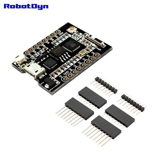 RobotDyn WiFi D1 mini PRO integratie van ESP8266 + 32 mb flash en USB-TTL CP2104