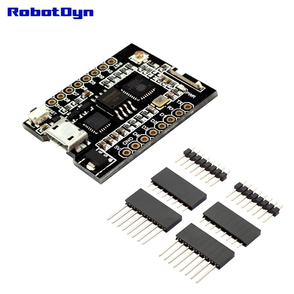 RobotDyn WiFi D1 mini PRO integration of ESP8266 + 32Mb flash and USB-TTL CP2104RobotDyn WiFi D1 mini PRO integration of ESP8266 + 32Mb flash and USB-TTL CP2104