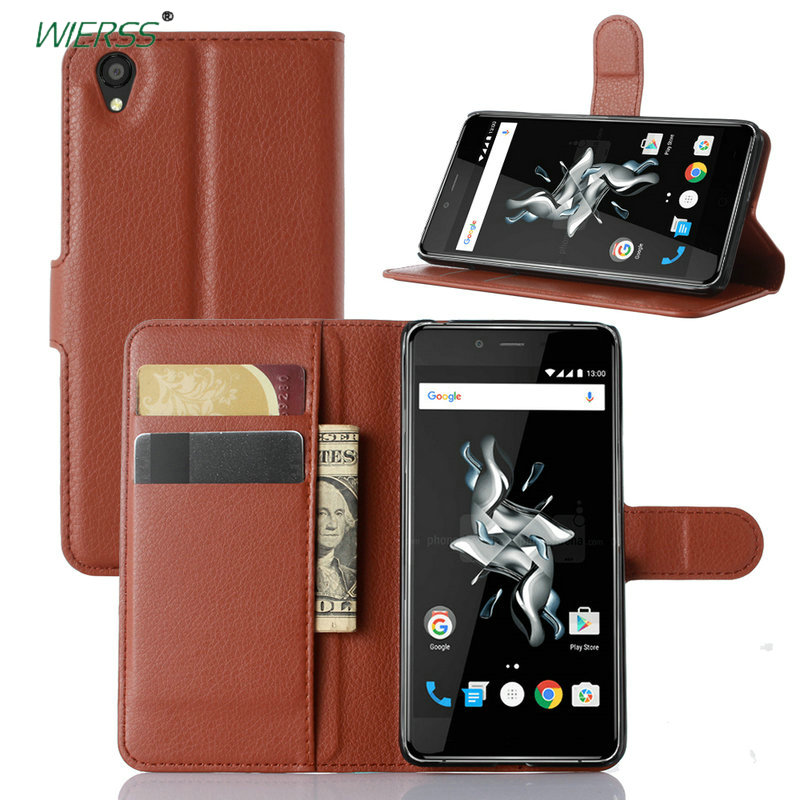 for <font><b>OnePlus</b></font> X Wallet Flip Leather <font><b>Case</b></font> for <font><b>OnePlus</b></font> X ONE <font><b>E1001</b></font> 5 inch Leather back Cover <font><b>case</b></font> with Stand Etui Coque funda> image