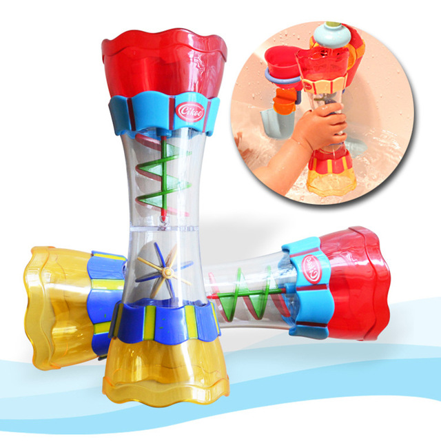 1 PCS Baby Bath Water Toys Play In Scoop Water Swimming Beach Toy Plastic Swim Whirly Wand Cup For Kids Baby Toys Newborns Gifts