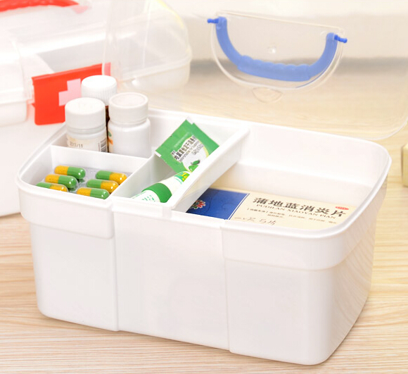 Household Pyxides / Medicine Box / Large Plastic Pyxides / Health Care First  Aid Kit Jewelry Storage Box Case Container In Storage Boxes U0026 Bins From  Home ...