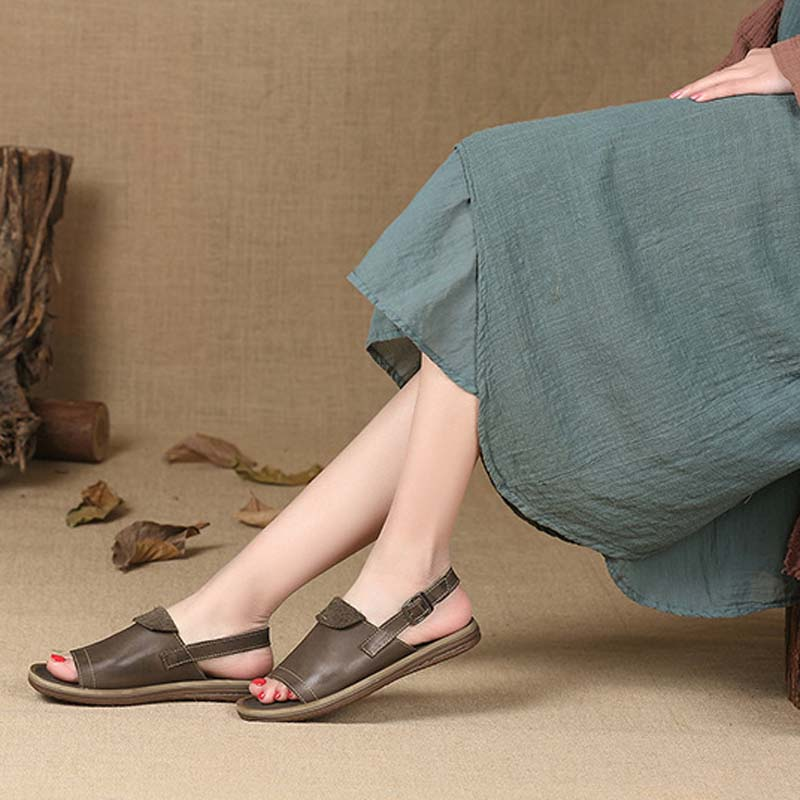 Comfortable flat bottom with sandals female 2018 new summer open toe two wear casual slippers sandals wild word drag