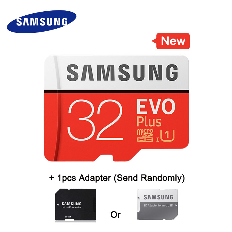Image 4 - SAMSUNG Memory Card Micro SD 32G 64G 128G 256G 512GB SDHC SDXC Grade EVO+ Class 10 C10 UHS TF Cards Trans Micro up to 95mb/s New-in Micro SD Cards from Computer & Office