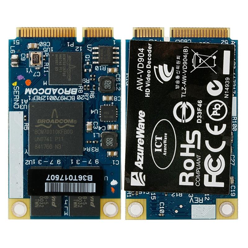 1 Set BCM970012 BCM70012 HD Decoder AW-VD904 Mini PCIE Card for APPLE TV Netbooks New цена