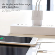 Dual USB Charger with EU Plug
